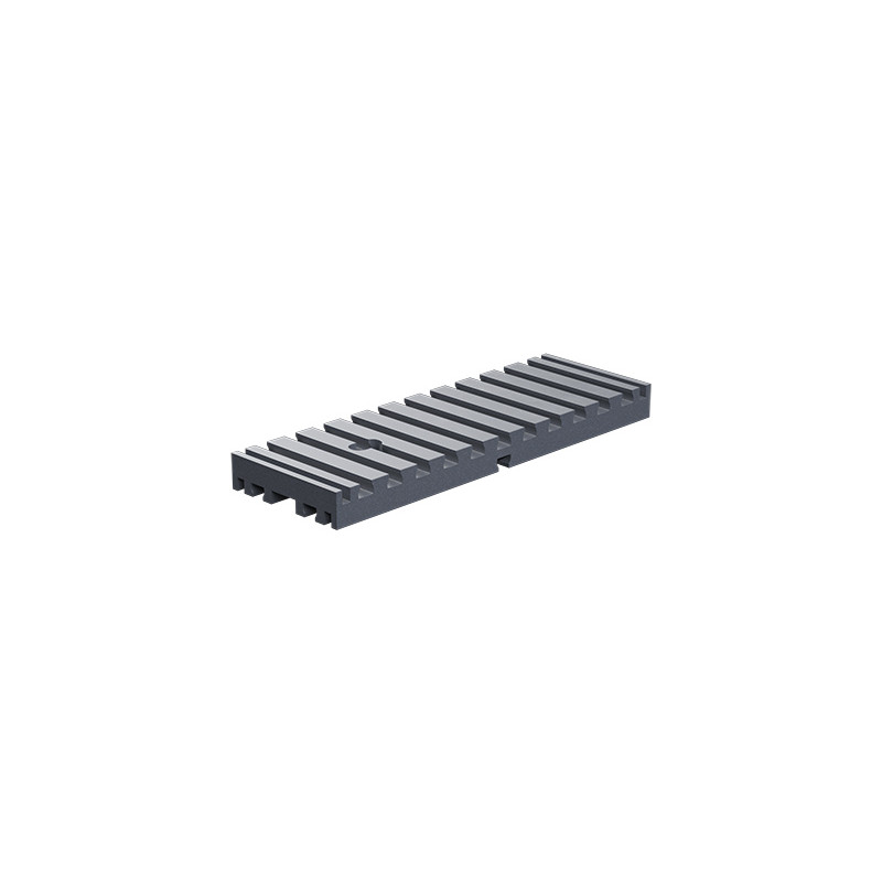 Baseplate 30x90 silver