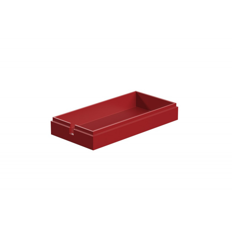 Cover For Battery Holder Red