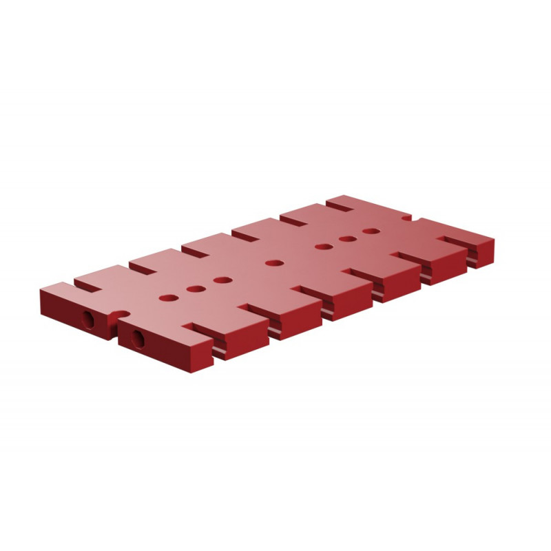 Base Plate 90X45 Red