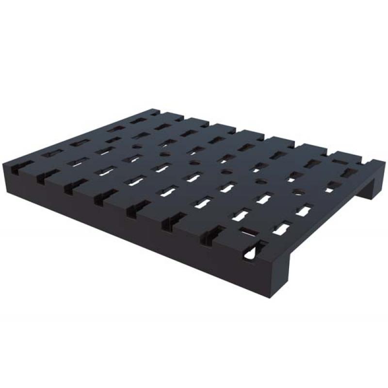 Base plate 120x90 black
